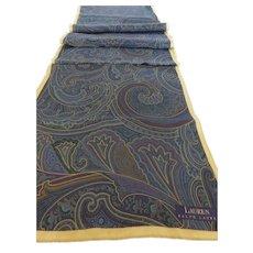 Vintage Long Ralph Lauren Long Silk Scarf