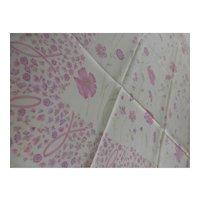 Silk Pastels Poppy Scarf 34 In