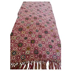 1940's Men's Silk Opera Scarf Neck Scarf