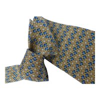 Authentic Hermes Silk Necktie