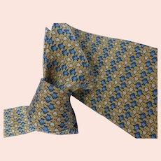 Authentic Hermes Silk Necktie