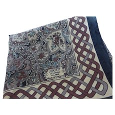 Liberty of London Silk Scarf Made in England