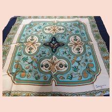 Bayron of Milano Vintage Silk Scarf MINT