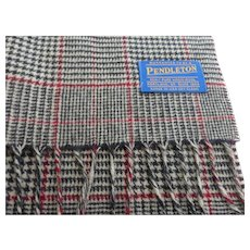 Pendleton Long Wool Plaid Scarf
