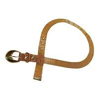 Vintage Gold Metal Mesh Belt