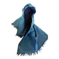 Vintage 1950s Gentlemen's Silk & Wool Scarf
