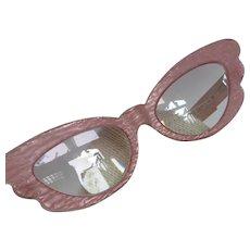 Vintage Nouvelle Vague Cat Eye Eyeglass Frames Paolo Seminara Italy