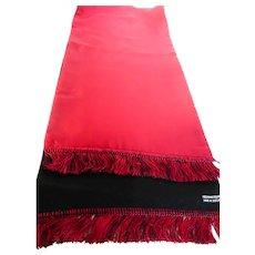 Gentlemen's Silk Cashmere Wool Scarf Made in Scotland