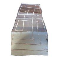 Vintage Halston Long Silk Chiffon Scarf