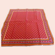Vintage Burmel Silk Blend Scarf