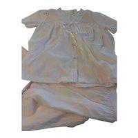 Vintage 60s Barbizon Baby Doll Lingerie Pajamas Set Size Med MINT