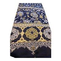 Vintage 1960's Long Silk Scarf
