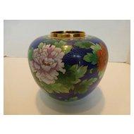 Vintage Pot Style Cloisonné Vase