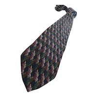 "Vintage Italian Silk Necktie 64"""