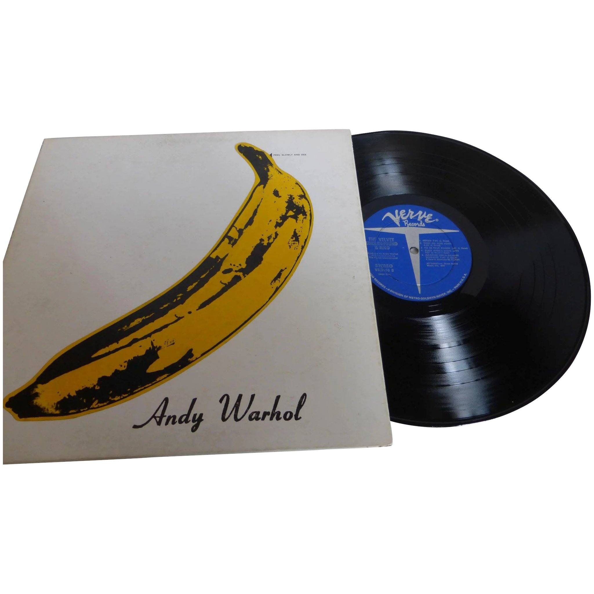 Rare The Velvet Underground Nico With Andy Warhol Banana Cover Historique Ruby Lane