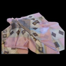 Vintage Echo Silk Hand Painted Scarf