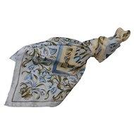 Gorgeous Metropolitan Museum of Art Scarf Twill Silk