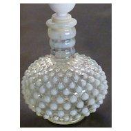 Vintage Opalescent Hobnail Perfume Bottle
