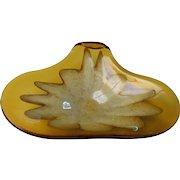 Mid-Century Murano Sommerso Glass Dish