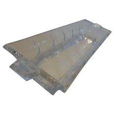 Vintage Gorham Hartfield Crystal Cracker Tray