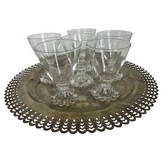 Anchor Hocking Berwick Boopie Sherry or Cordial Glasses Set of 6