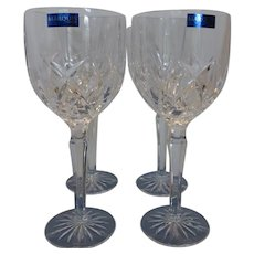 Marquis by Waterford Brookside Stemware Wine Glasses As New In Box