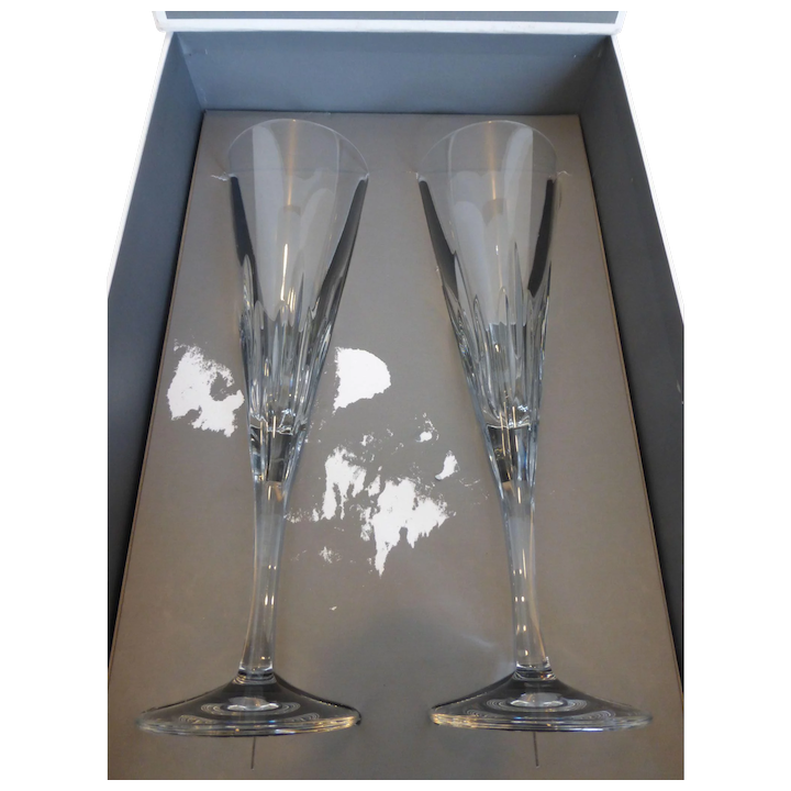 Champagne Flutes Vera Sse By Wedgwood Pair