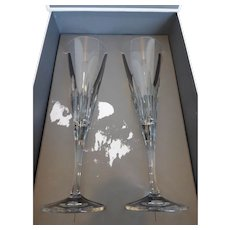 Champagne Flutes Vera Wang Duchesse by Wedgwood Pair