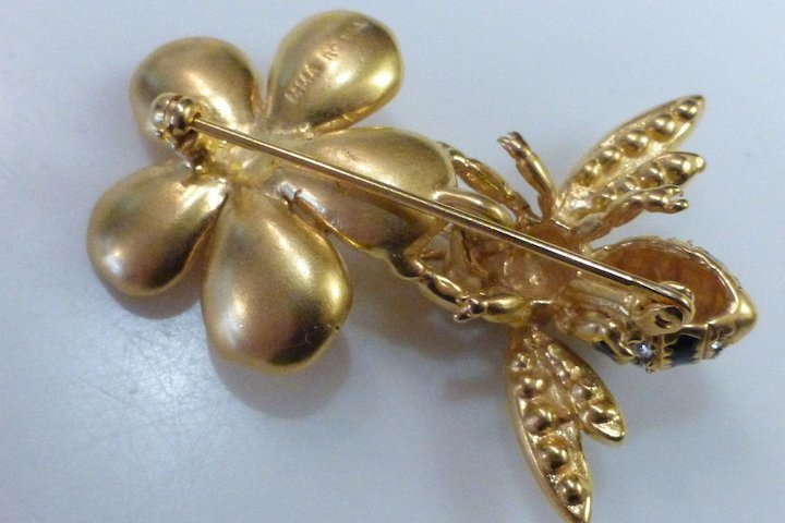 faberge brooch shop joan lane ruby item pin full egg ajax rivers vintage