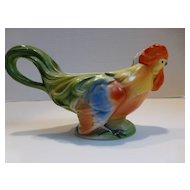 Antique Figural Rooster Creamer Pitcher Germany