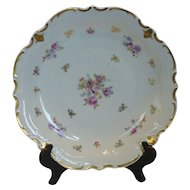 "Reichenbach GDR 12-3/4"" Round Serving Platter Germany"