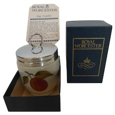 Royal Worcester Egg Coddler 'Evesham' King or Double Size In Box