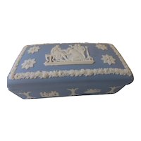 Vintage Wedgwood Jasperware Trinket Box