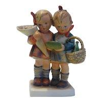 "Early Hummel Figurine ""Going to Grandma's"" 52/0 Western Germany  MINT"