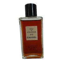 Vintage Chanel No 5 Eau de Cologne Perfume 2 oz Unopened