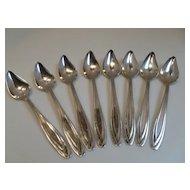 Vintage Roger Bros Silverplate Fruit Spoons Set of 8