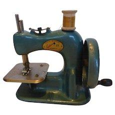 Vintage 1940s Gateway Child's Toy Sewing Machine WORKS