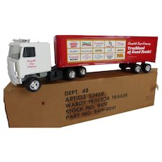 1985 ERTL Campbell Soup Company Semi Tractor Trailer As New in Box