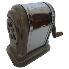 Vintage Boston Ranger 55 Manual Pencil Sharpener Table / Desktop Style