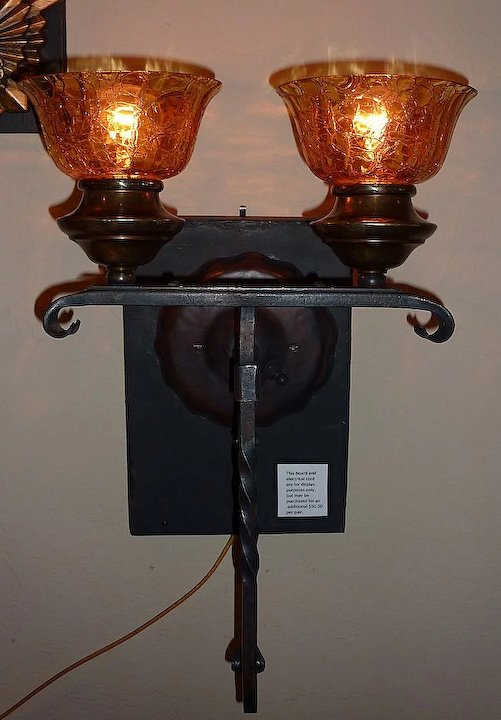 sconce iron wall foter candles wrought candle large sconces explore