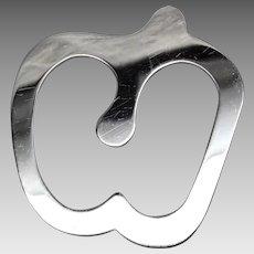 Tiffany apple bookmark Elsa Peretti sterling silver Italy