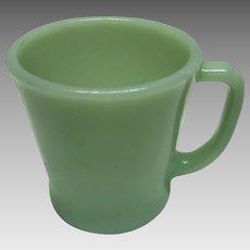 Anchor hocking Fire king jadeite mug restaurant ware