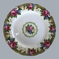 "Paragon tapestry Rose 7"" plate"