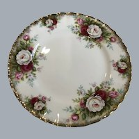 Royal Albert Celebration bread and butter plate 61/4""