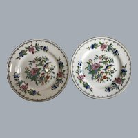 2 Aynsley Pembroke bread and butter plates