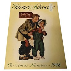 Christmas number  1948 Farmer's Advocate magazine