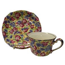 Royal Winton Royalty chintz cup and saucer set