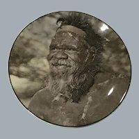 Vintage 1950s Royal Doulton Display Plate Australian Aborigine