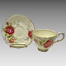 Paragon Golden Emblem cup and saucer set