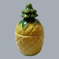 Vintage Orchids of Hawaii Japan Lidded Pineapple Tiki Mug - Perfect